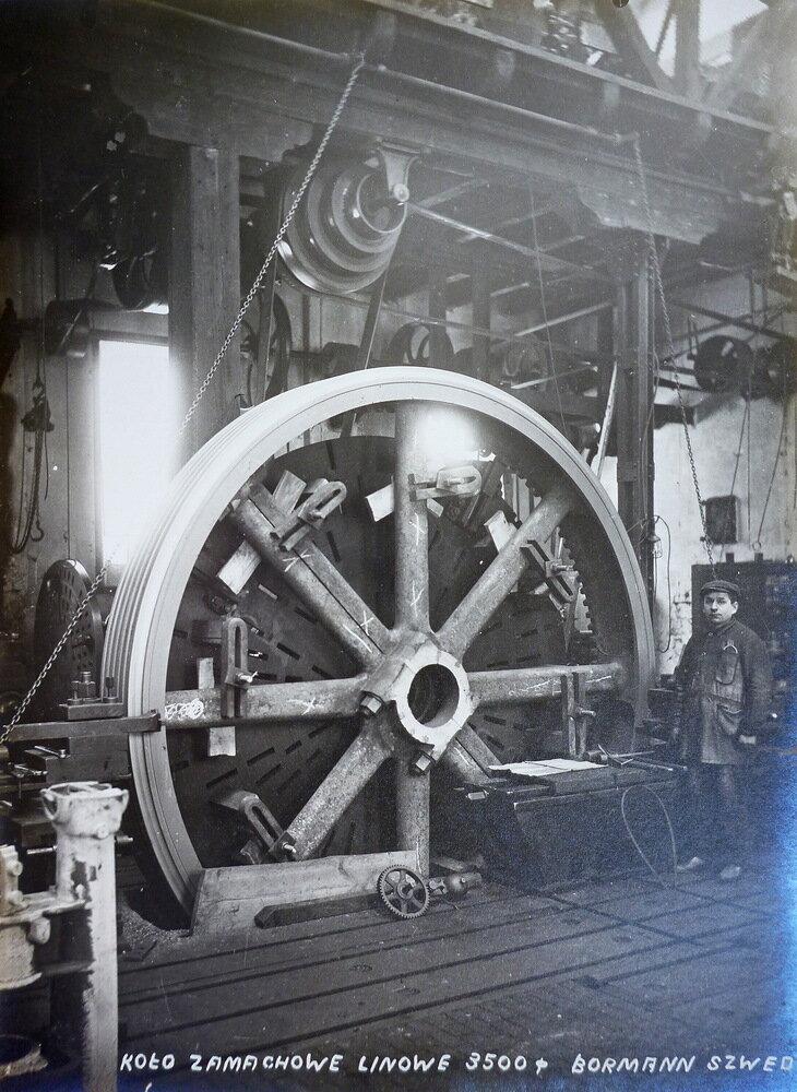 Канатное меховое колесо