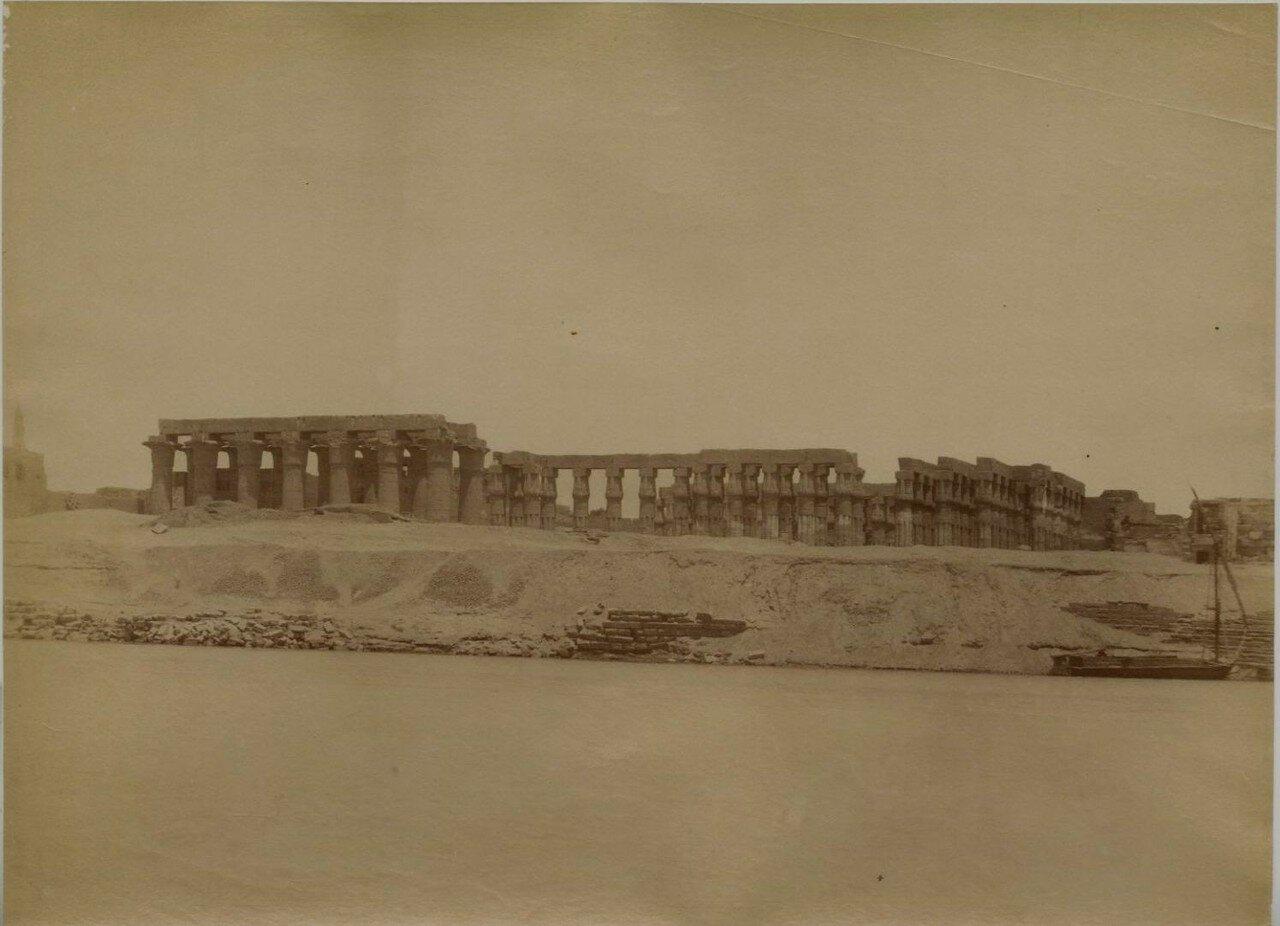 Луксорский храм.  Общий вид
