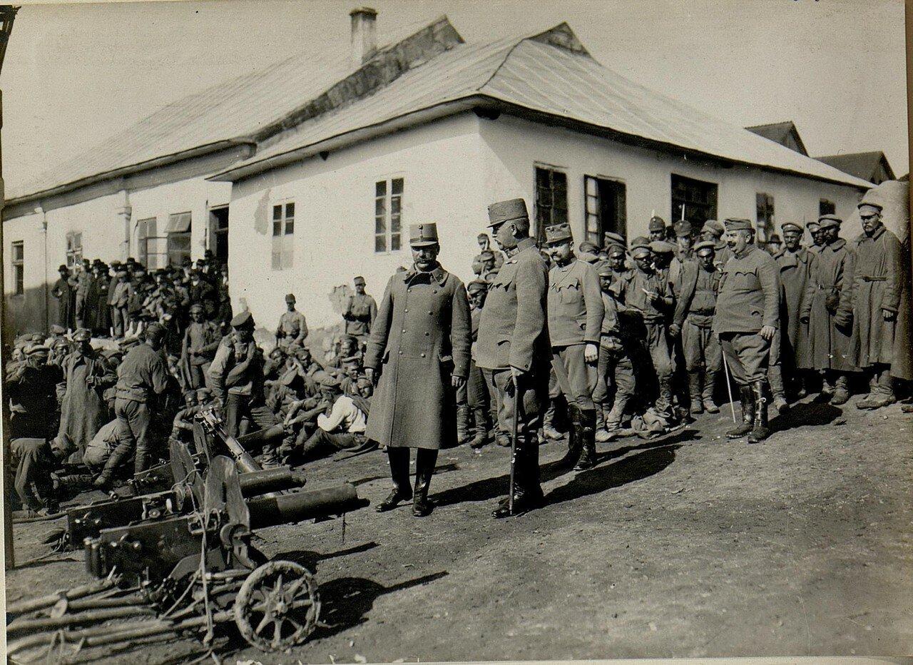 Русские военнопленные in Podhajce