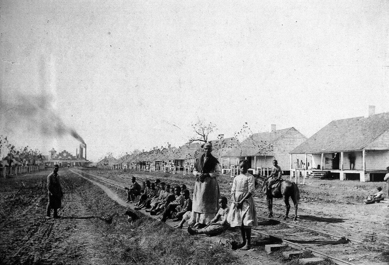 1884. Негритянский район Нового Орлеана