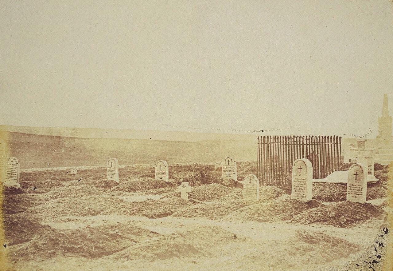 Могилы 97-го полка на британском кладбище возле Севастополя