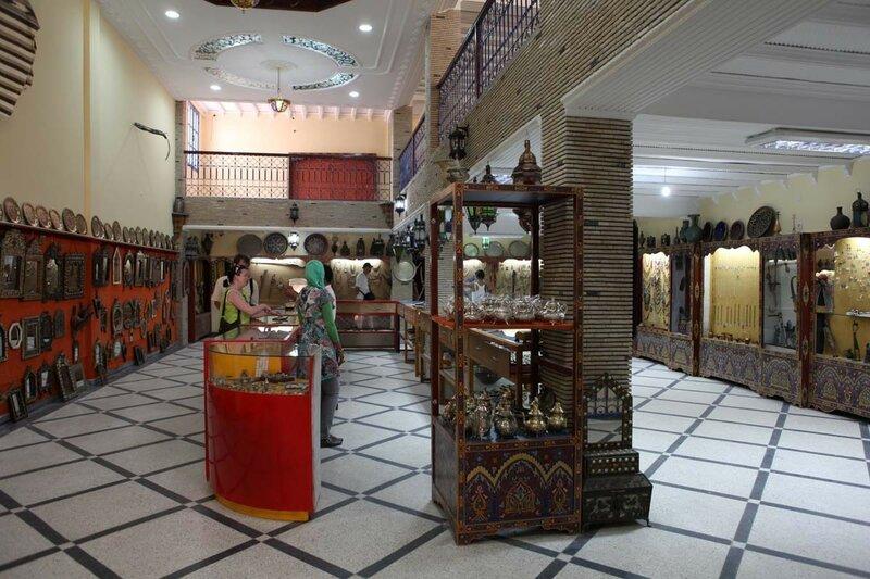 Марокко - магазин серебра