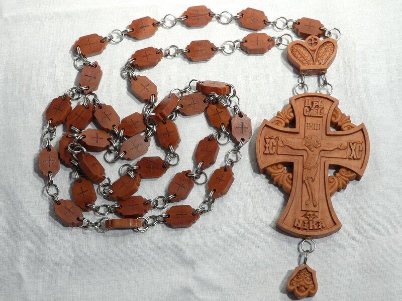 деревянная цепь для наперсного иерейского креста несколько