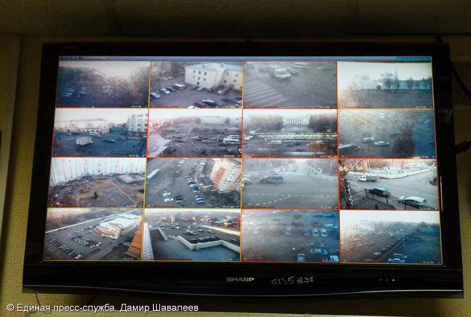 Сергиев Посад под видеоприсмотром полиции