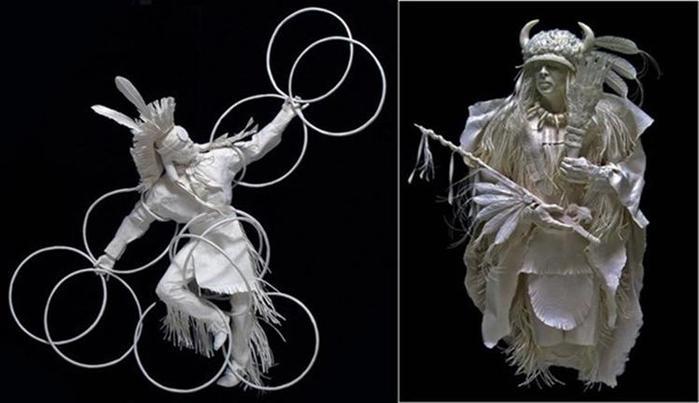 Удивительные скульптуры из бумажной массы 0 115b69 a1dfb274 orig