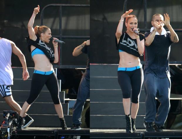 Дженнифер Лопес на концерте KTUphoria 2014 в Нью Джерси