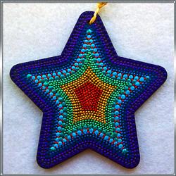 Декоративная подвеска Звезда