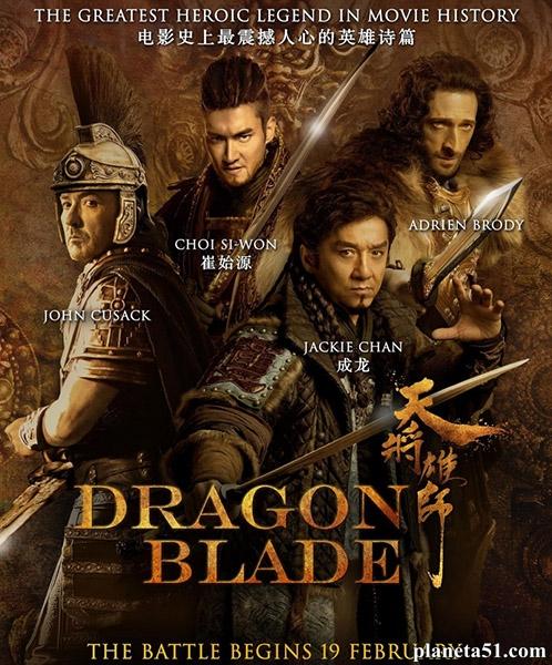 ��� ������� / Tian jiang xiong shi / Dragon Blade (2015/WEBRip)