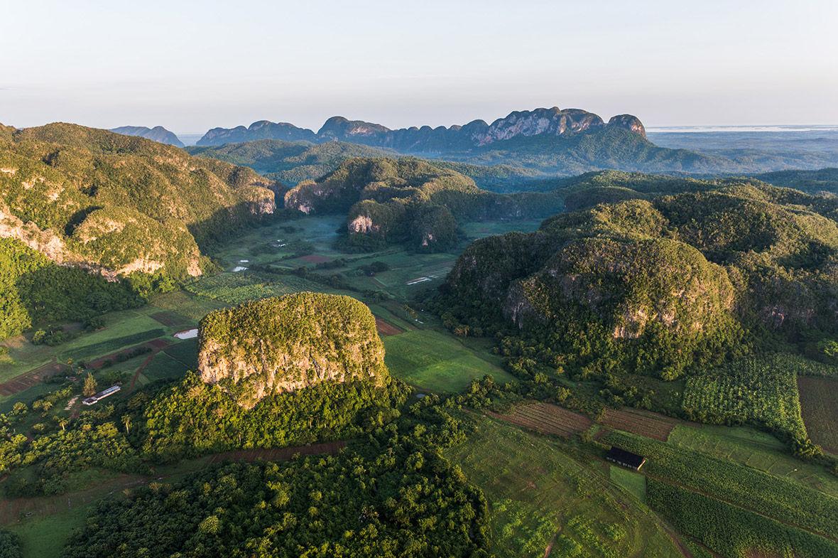 9 Красота Валье-де-Виньялес побудила ЮНЕСКО назначить эти земли в свой список Всемирного наследия в