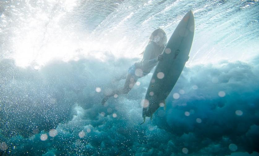 Подводный серфинг. Автор фото: Кирилл Умрихин