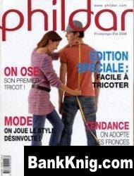 Журнал Phildar №490, 2008 djvu 18,6Мб