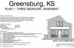 Книга Готовый проект стандартного котеджа Greensburg Plan 1r