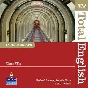 Аудиокнига New Total English intermediate (student's book, workbook's audio, students book's audio with scripts, teacher's CD-rom, DVD)