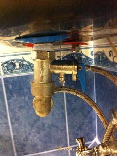 Подрывной клапан льёт без оглядки на температуру воды в бойлере