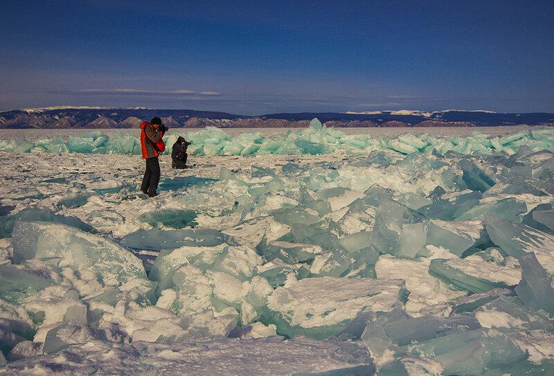 Фотографы на льду