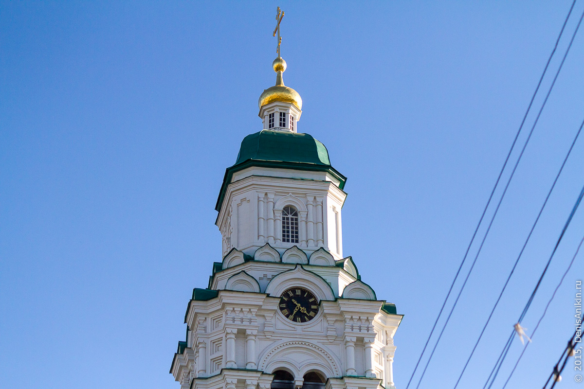 Соборная колокольня астраханского кремля 1