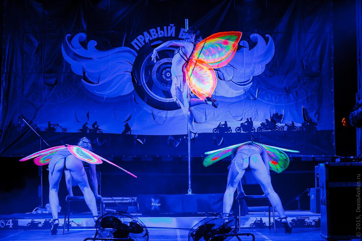 Мотофестиваль Правый Берег 2015 Velina-Dance Бабочки 10