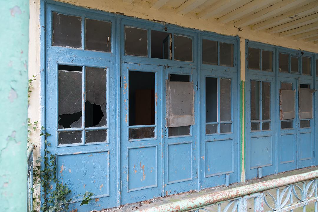 Руины 25-ого корпуса