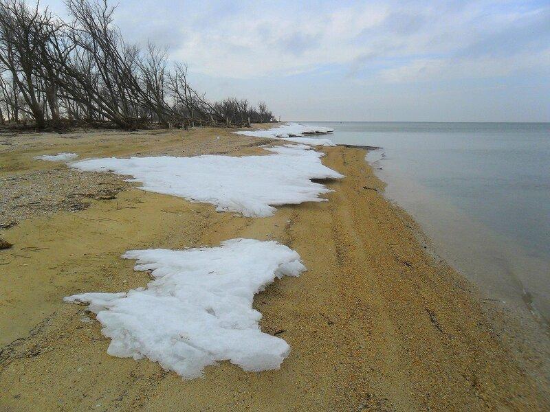 Зимний эффект на берегу ... SAM_5601.JPG