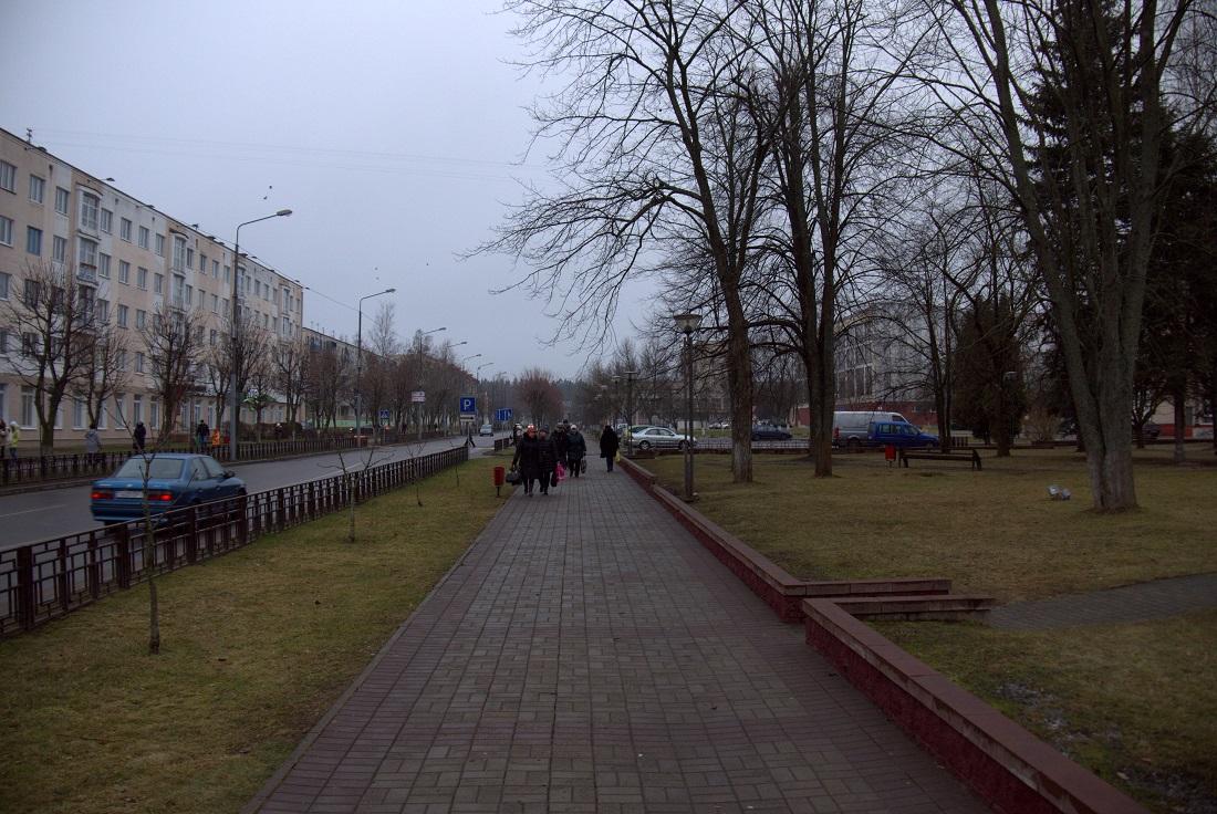"""Сквер рядом с ДК""""Нафтан"""""""