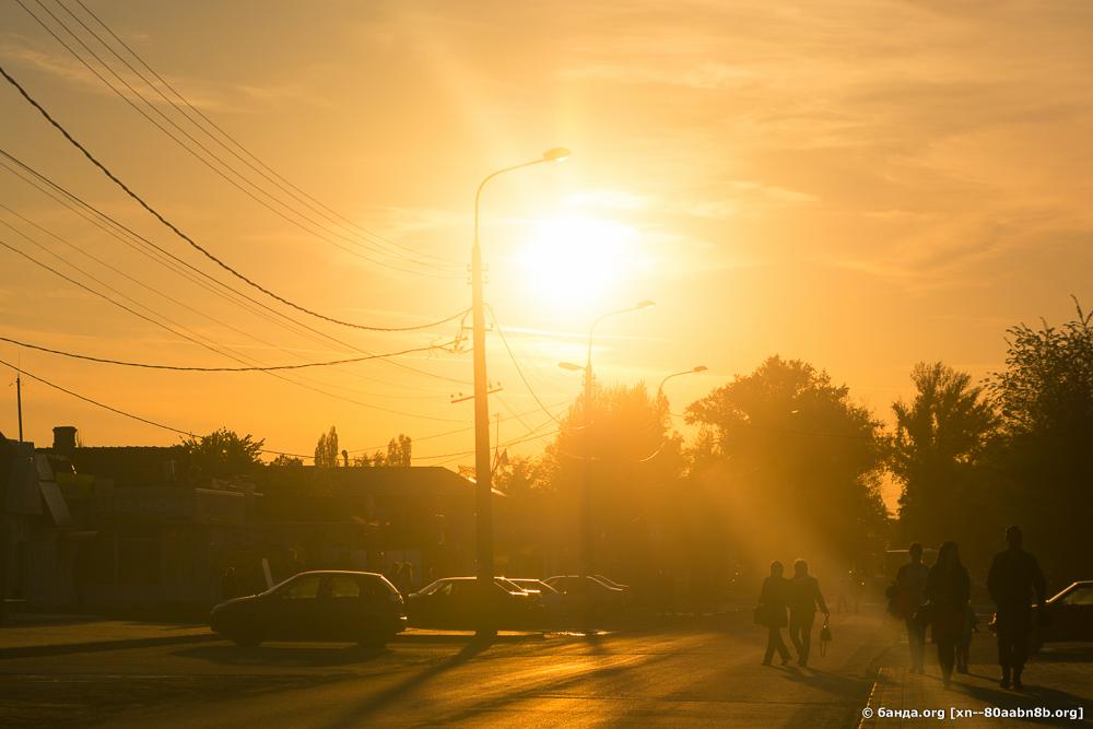 Закат в Калаче-на-Дону