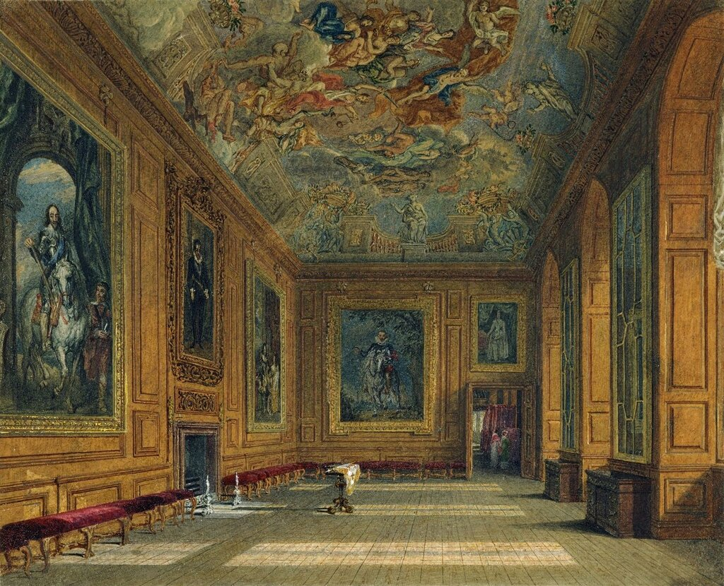 Windsor Castle: The Queen's Presence Chamber