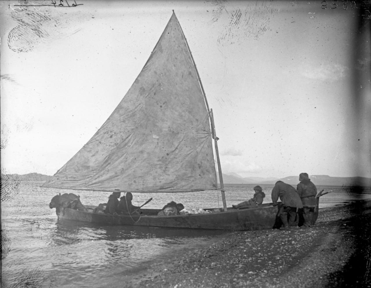 Чукотская лодка, 1901