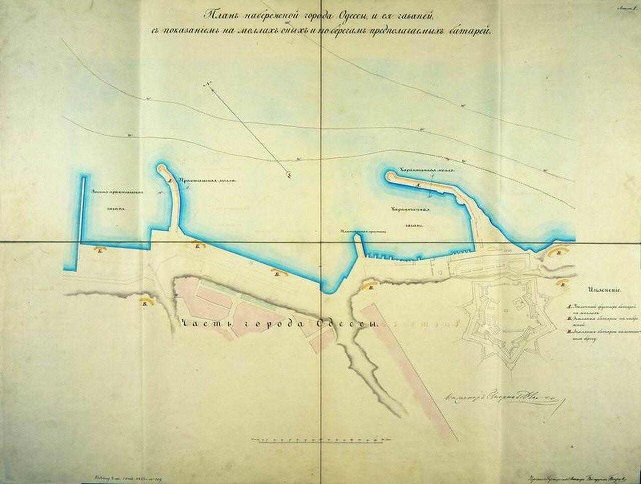 1796. План Одессы