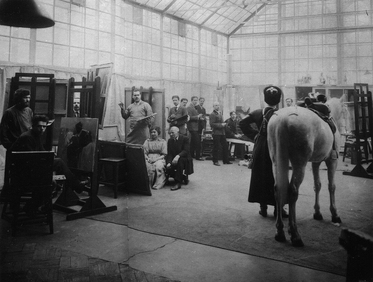 Студия Н.С.Самокиша. 1900-е