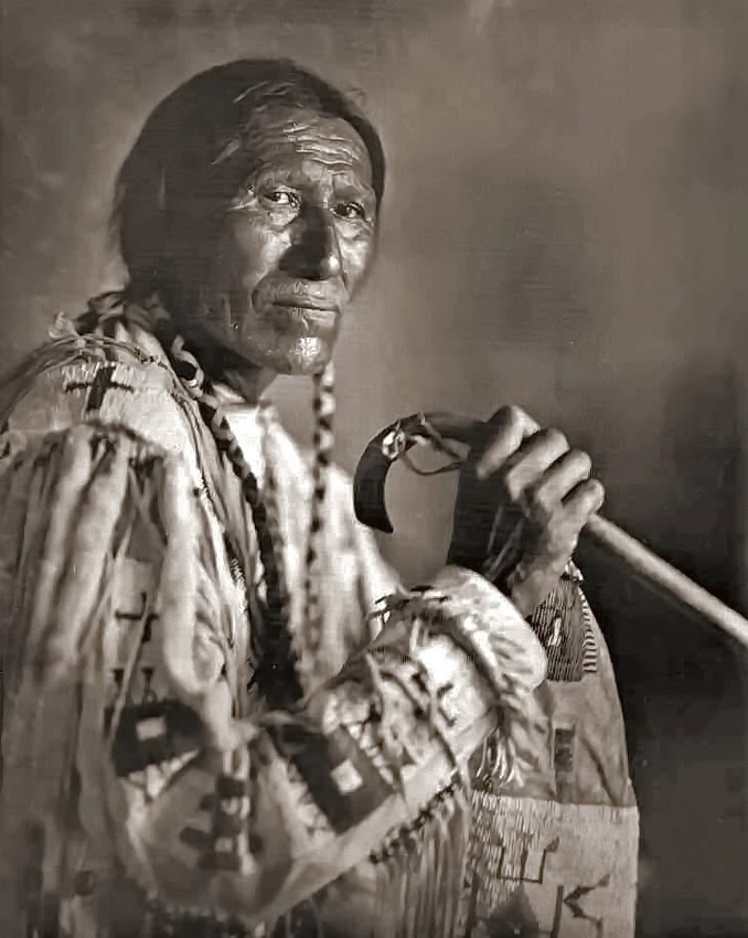 American Indian (Cheyenne), 1910s Photographer: unknown