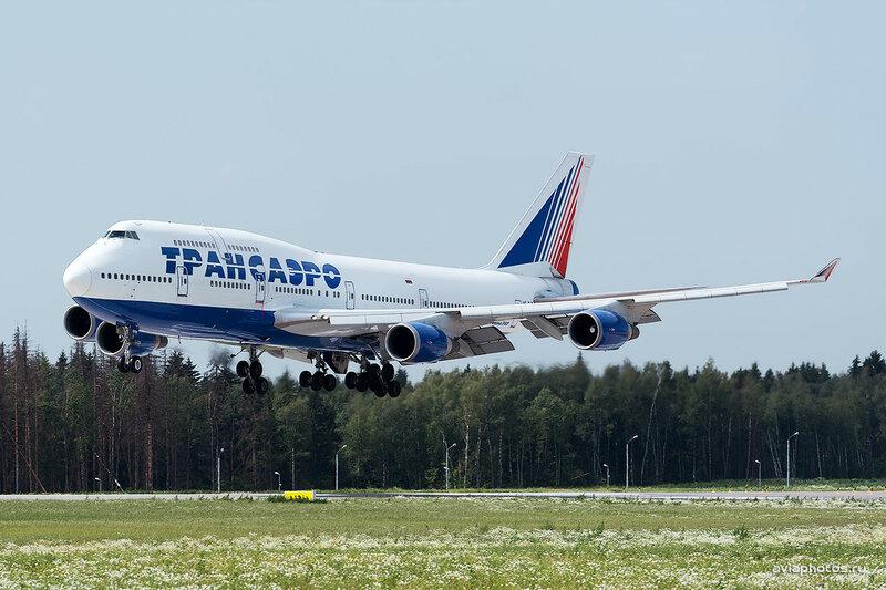 Boeing 747-4F6 (VQ-BHW) Трансаэро D806243