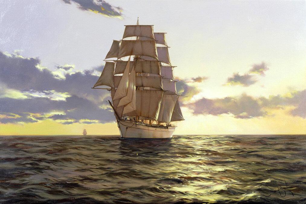 корабли в картинах современных художников смотреть онлайн этом случае обязательно