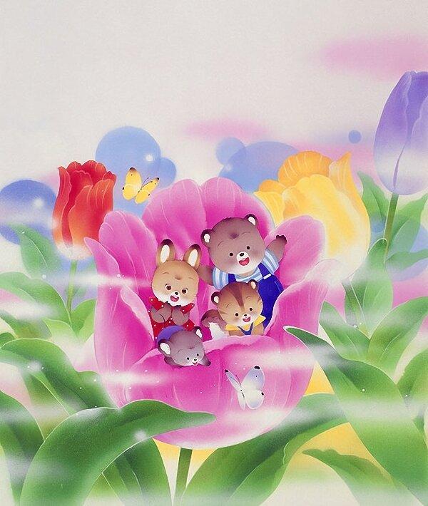 Волшебная страна, где сказки детства...Японские иллюстрации Igawa Hiroko