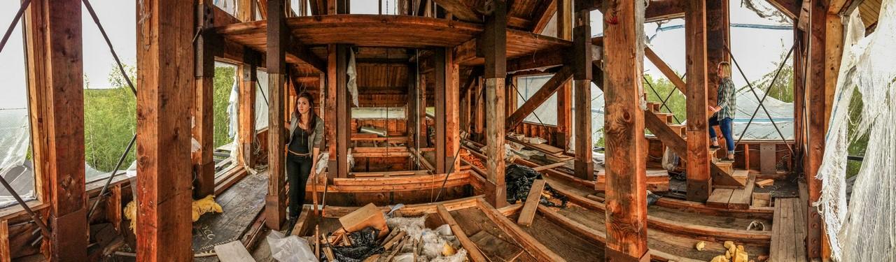 Избушка Доктора Сьюза в 12 этажей больше, известного, домик, конструкции, доктора, влесу, дорога, владелец, Сьюза», Американский, название, сооружают, своих, частных, участкахФото, Неофициальное, американского, башня, получила, вчесть