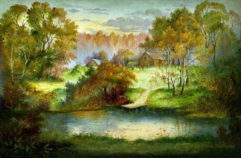 Природа в живописи