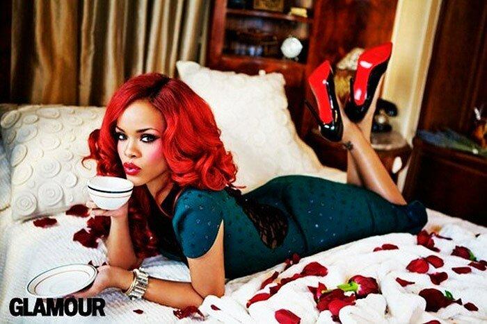 Рианна (Rihanna) для журнала Glamour
