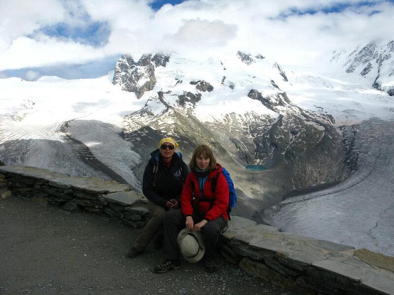 Сидим балдеем среди ледников