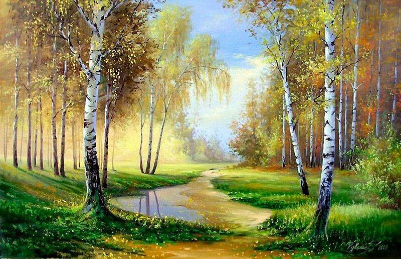 Белорусский художник Олег Чувашев. Нежные пейзажи и натюрморты 0 1110be b50d014f XL