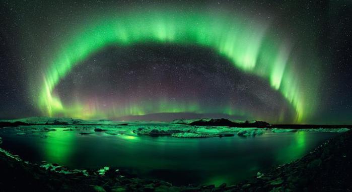 Красивые фотографии полярного сияния 0 10d5f9 fb95259c orig