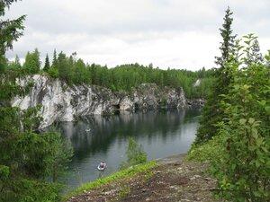 Поездка в Карелию с посещением мраморного каньона в горном парке «Рускеала»