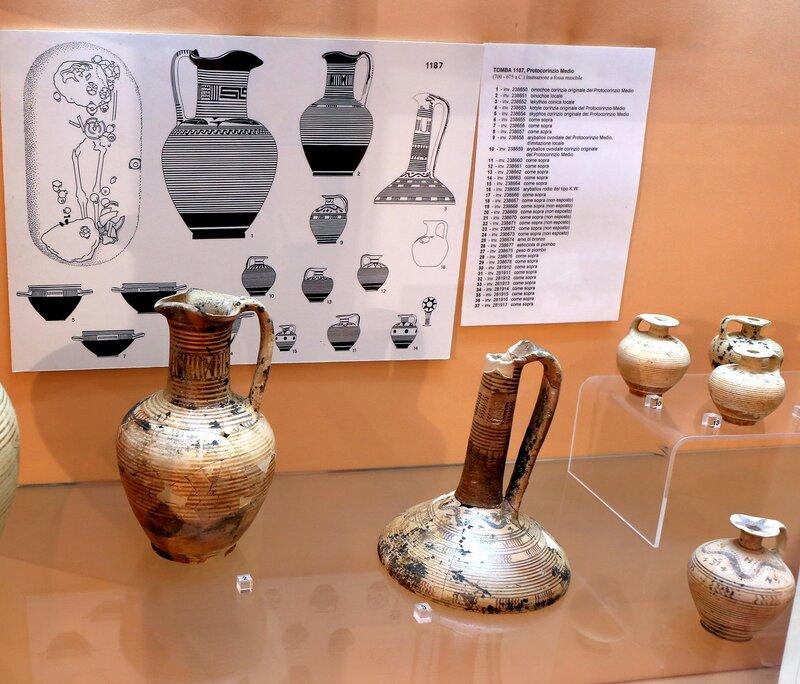 Искья, Лакко Амено. Археологический музей