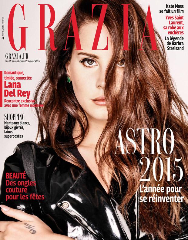 Лана Дель Рей (Lana Del Rey) в журнале Grazia France