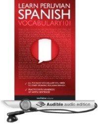 Аудиокнига Learn Peruvian Spanish. Vocabulary2001