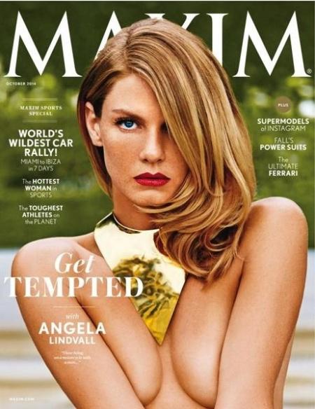 Журнал: Maxim №10 (October 2014 / USA)