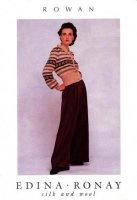 Журнал Rowan. Silk and Wool by Edina Ronay