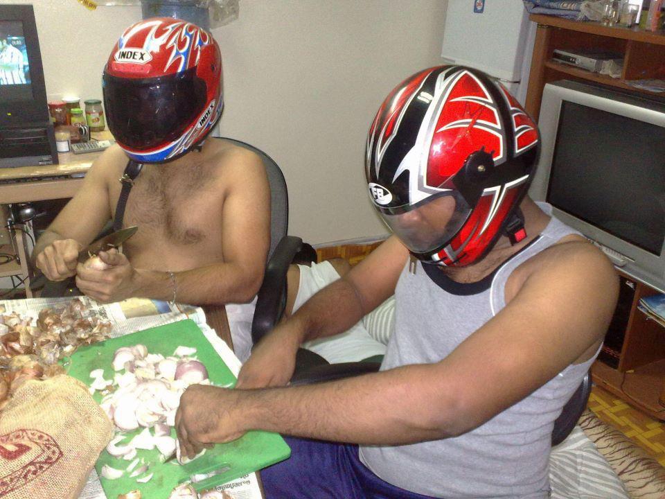 Мужчины на кухне