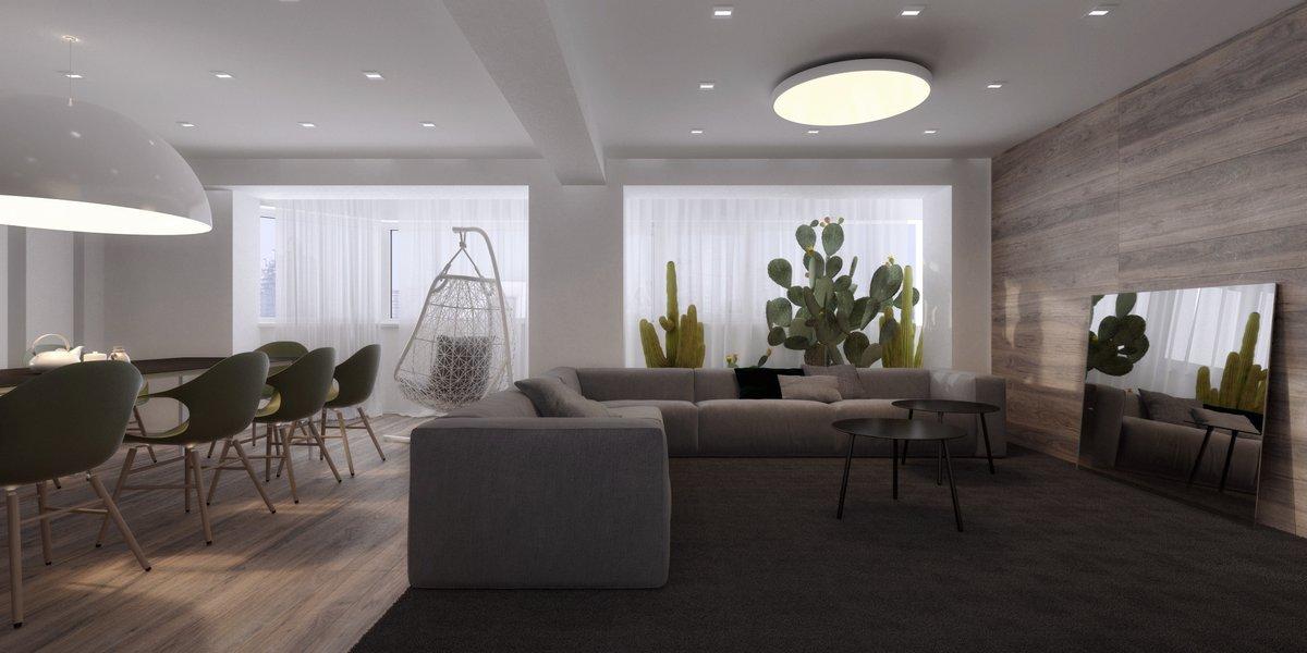 Игорь Сиротов, проекты Игоря Сиротова, Игорь Сиротов портфолио, проект дизайна интерьера квартиры, красивые квартиры фото, визуализация дизайна интерьера