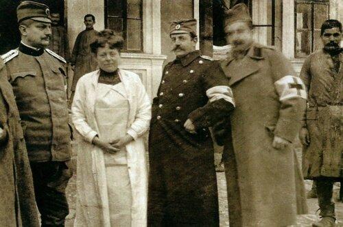 Надежда Петрович, Сербия - искусство, война