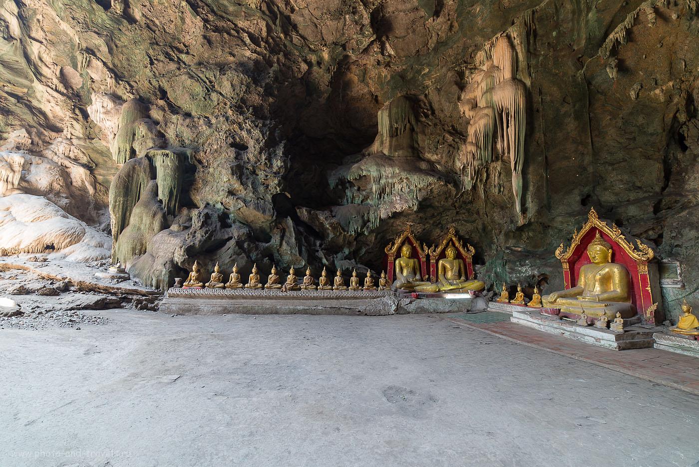 Фотография 20. Пещеры Луанг, снята одним кадром (100, 14, 5.6, 0.8, трипод). Отзыв об экскурсиях в Таиланде. Что посмотреть самостоятельно
