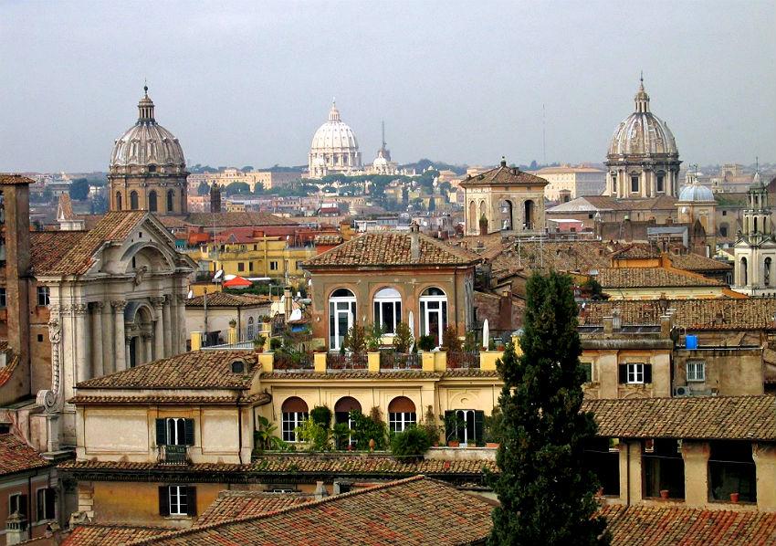 Ты покорил меня, величественный Рим...